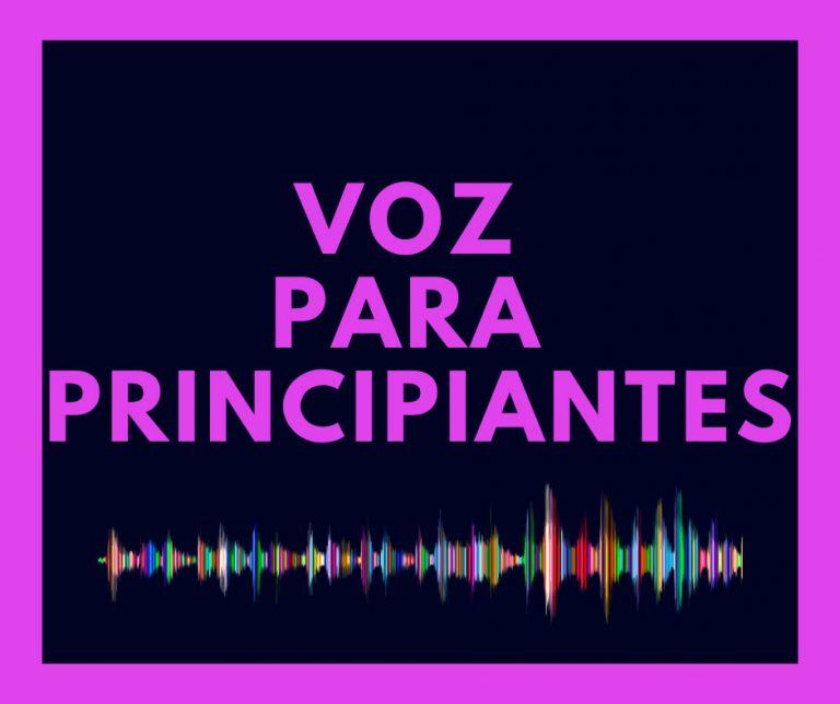 Curso de voz