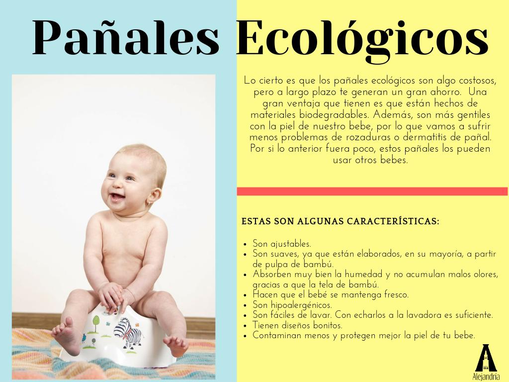 Características de los pañales ecológicos