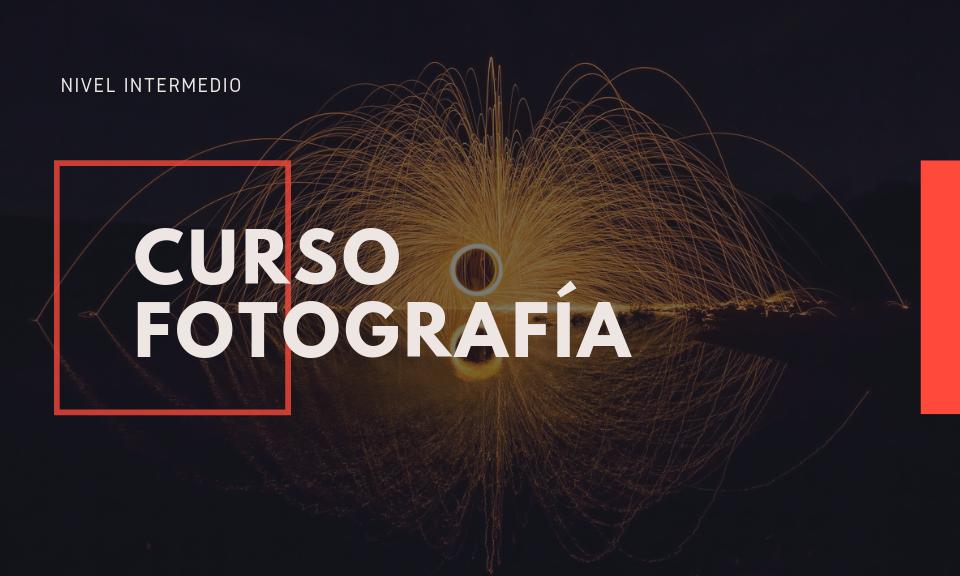Curso de fotografía intermedio