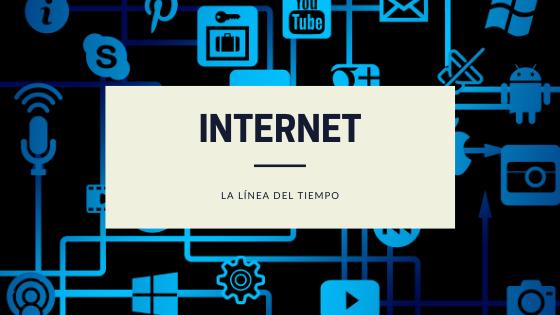 Línea del tiempo del Internet