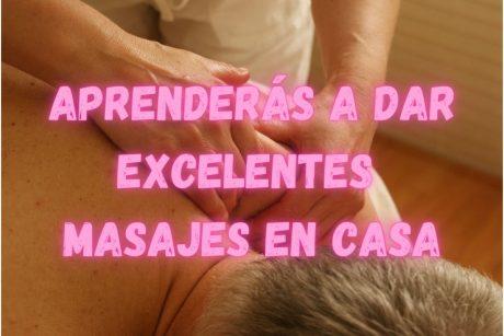 Curso de masajes en casa