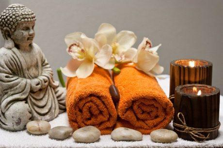 Preparación para el masaje