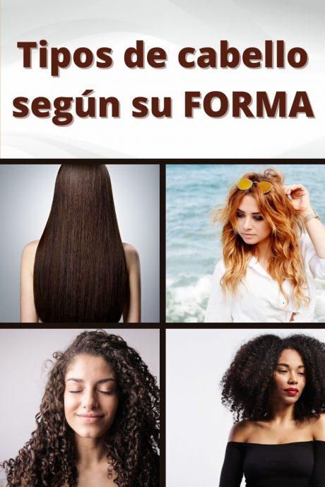 Tipos de cabello según su forma