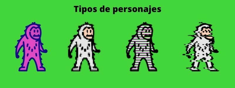 Tipos de personajes para cine