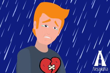 Un personaje herido