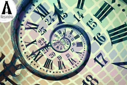 Un reloj que marca el tiempo de una narración