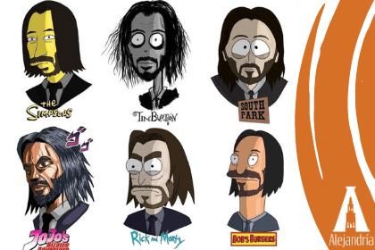 Diferentes tipos de personajes
