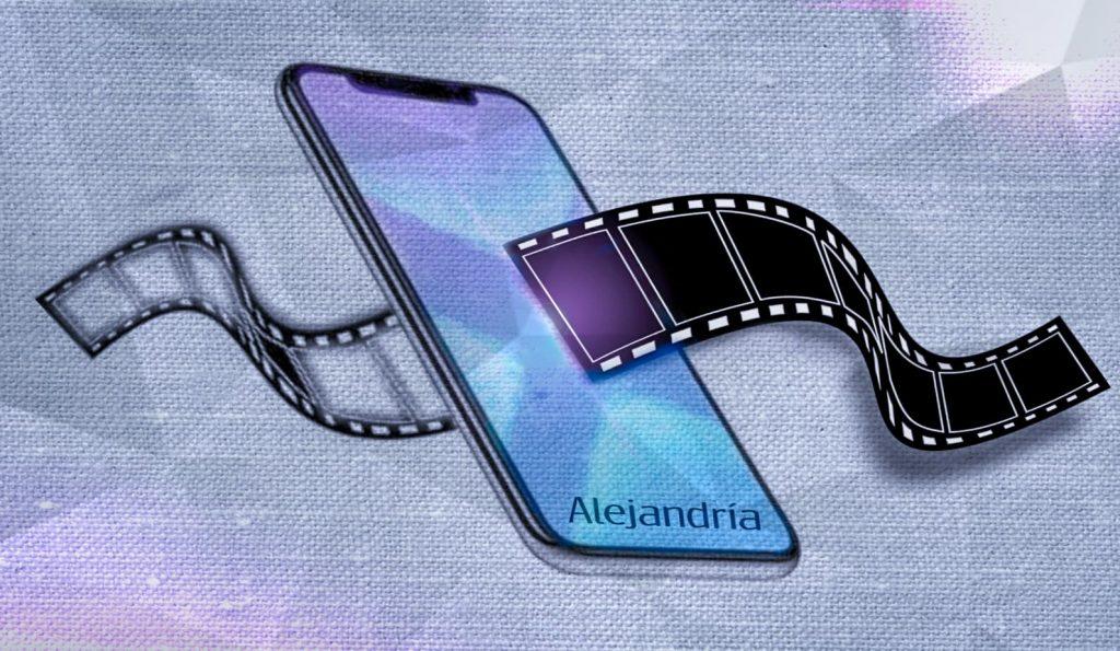Celular grabando video