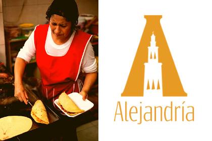 Mujer preparando garnachas mexicanas