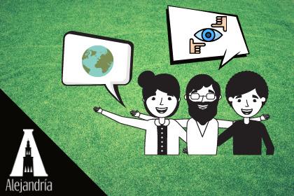 Personas en un contexto comunicativo