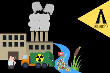 Industrias y la contaminación del agua
