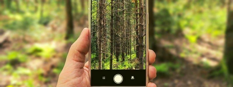 Modo automatico de la cámara del móvil
