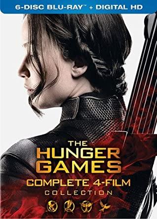 Las 4 películas de los Juegos del hambre