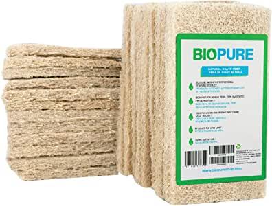 fibras biodegradables para lavar trastes