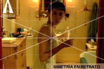 Simetría en un retrato