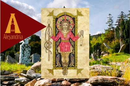 Diosa celta Lug Misa de los panes