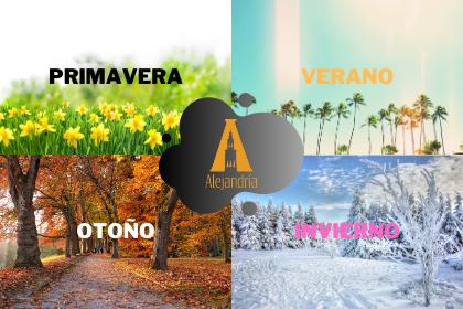 las cuatro estaciones del año