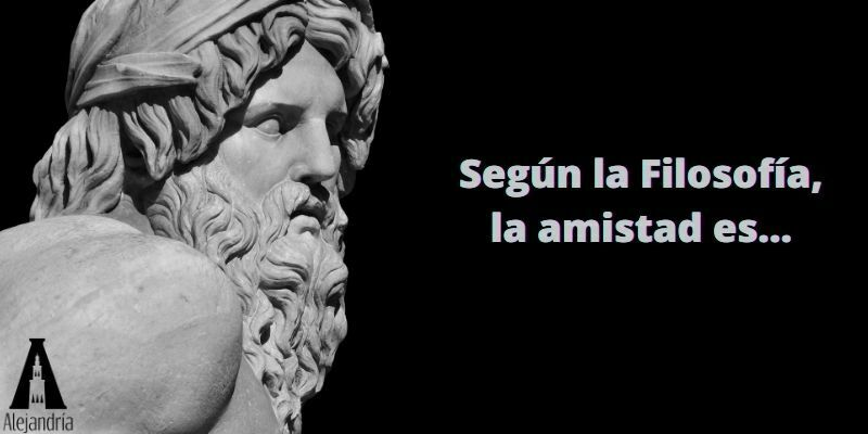 la filosofía y la amistad