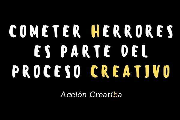 Los errores y la creatividad